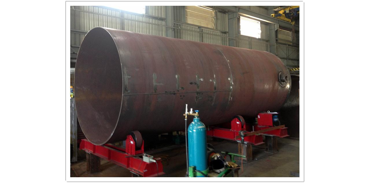 NHC - Gas Storage Vessel Fabrication 2
