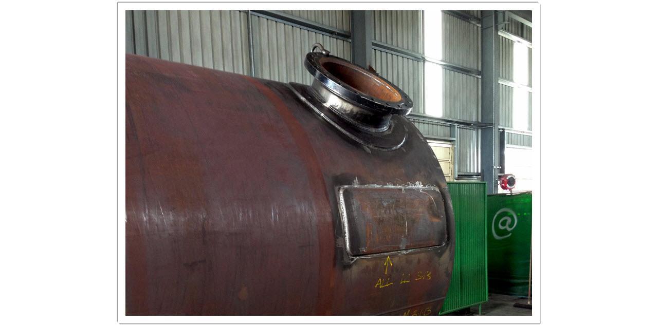 NHC - Gas Storage Vessel Fabrication 3