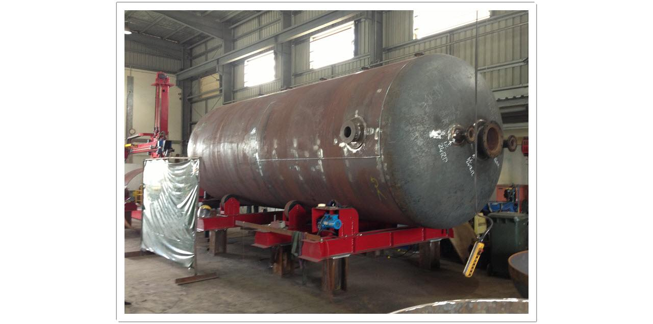NHC - Gas Storage Vessel Fabrication 4