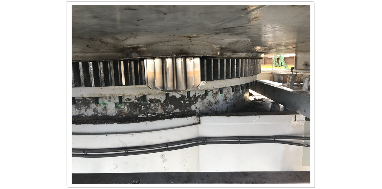 Photo 12 Shiploader Slew Bearing Replacement