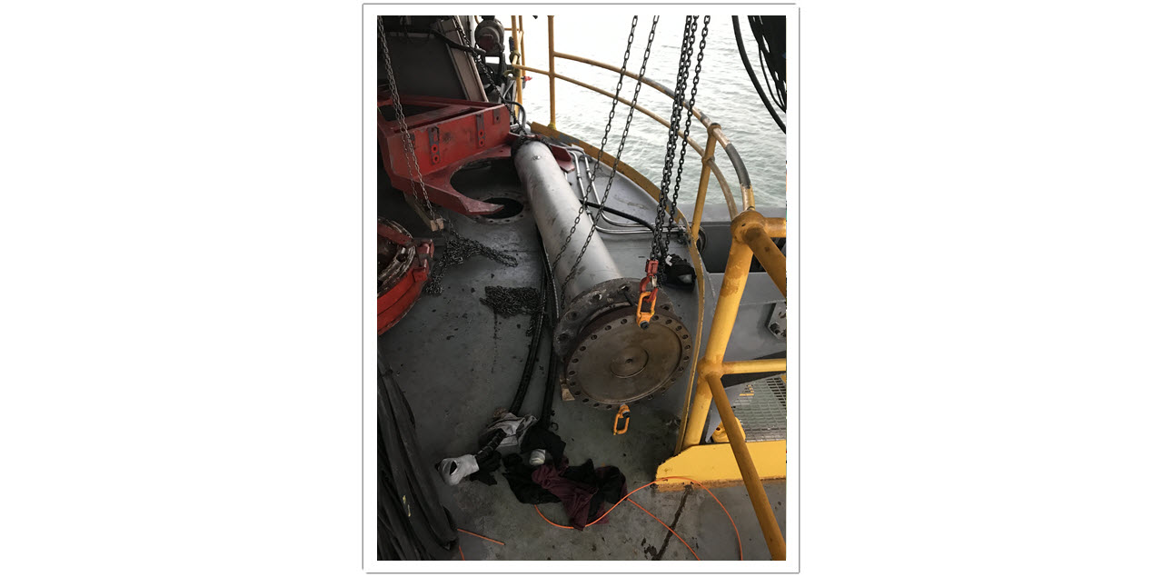 Photo 6 Shiploader Slew Bearing Replacement